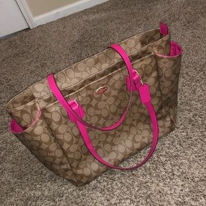 Coach Women's Diaper Bag or Purse